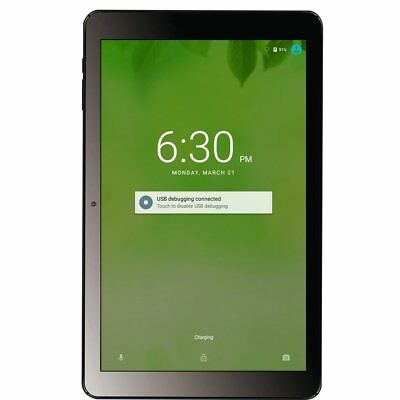 """10.1"""" Android Tablet 1024X600 Display 4-Core 1+32GB Dual Camera Bluetooth NC"""
