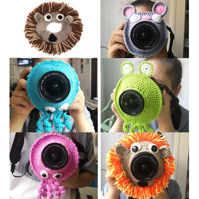 Kid/Pet Photography Knitted Animal Teaser Toy Posing Photo Props Lens Accessory