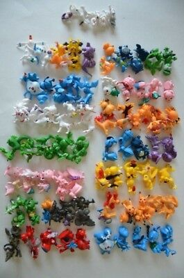 """144pcs Pokemon Toy Set Mini Action Figures 1"""" Collectible NEW Loose No Packaging"""