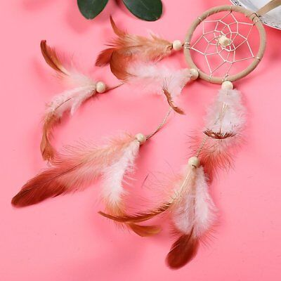 Sale Dream Catcher With feathers Wall Hanging Decoration Decor Bead Ornament T1