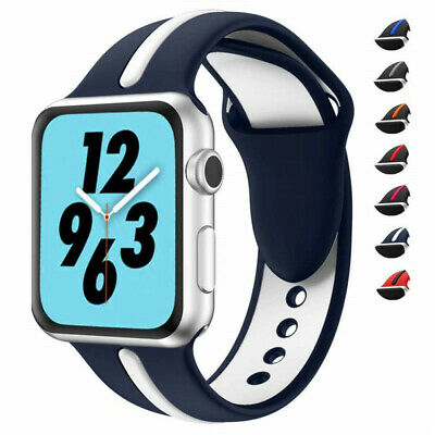 40/44mm For iWatch Series 4 3 Wrist Apple Watch Band Strap Bracelet Replacement