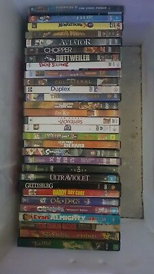 50 Assorted Dvd Collection All In Good Condition