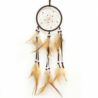 Hot Sale Dream Catcher feathers Wall Hanging Decoration Decor Bead Ornament~@