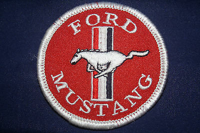 Aufnäher Patch Ford Mustang V8 US Car Musclecar Pony USA Auto