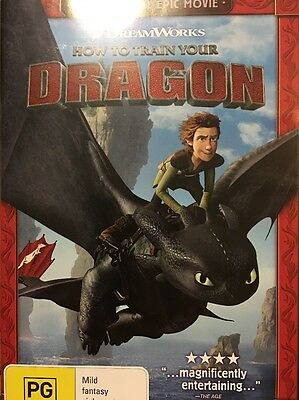 HOW TO TRAIN YOUR DRAGON LIKE New DVD R4