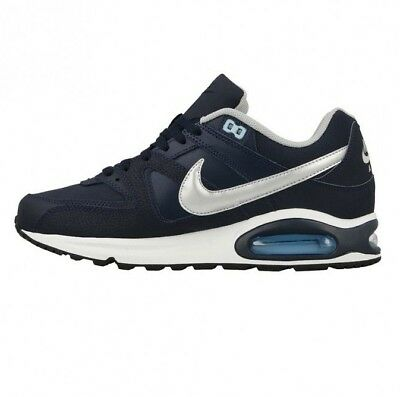 premium selection 62536 0e9e3 Nike Air Max Command Leather - Blue   Silver - 749760 401 - Uk 7,