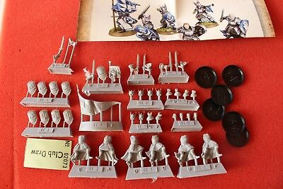 Games Workshop Forgeworld Lord of the Rings Foot Knights of Dol Amroth 6 Models
