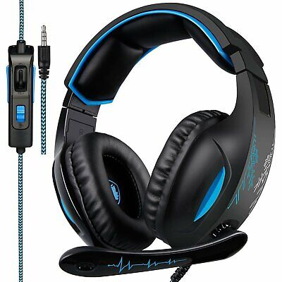 SADES SA816 Stereo Gaming Headset Heahphone for PC MAC PS4 Xbox One with Volum..