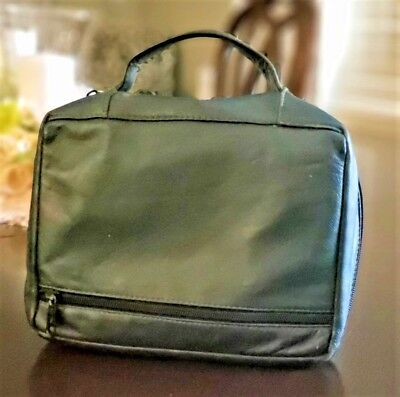LDS Leather Scripture Book Tote Green