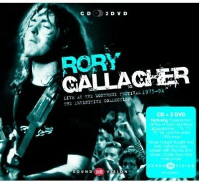 Rory Gallagher - Live At Montreux [CD2DVD]