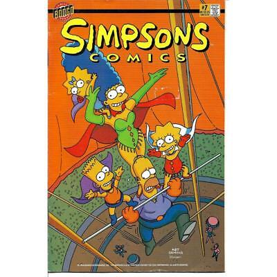 Simpsons #7 Bongo Comics books 1999 comic Homer Marge Bart Lisa Circus