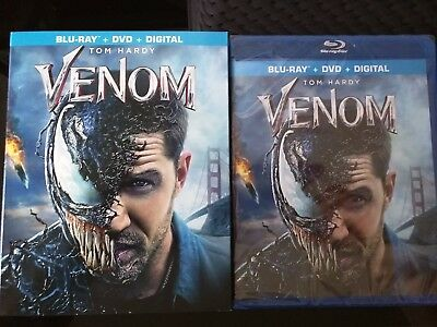 Venom Blu Ray/DVD/Digital combo Brand New