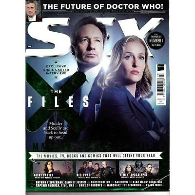 SFX Magazine February 2016 Science Fiction X-Files Mulder Scully Cover