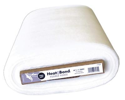 Heat N Bond 20-Inch X 11 Yd Extra High Loft Fleece Fusible, White Good For Craft