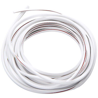 16ft Car Door Edge Trim Molding Rubber Seal Strip Scratch Protector Guard Decor
