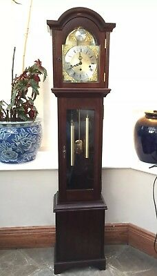 Grandmother Clock, Tempus Fugit, FHS Hermle  Movement