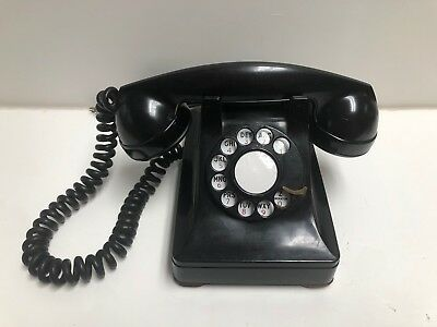 Vintage Bell System F1 Rotary Dial Telephone Made by Western Electric