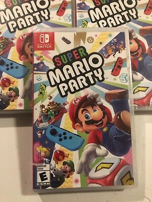 Super Mario Party- Nintendo Switch Sealed Fast Free Ship