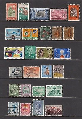 Ceylon-  Lot 134, Older Used.