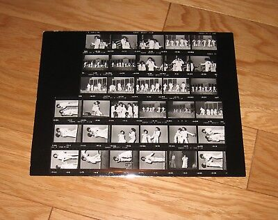 Michael Jackson 5 Five Janet original CONTACT SHEET Photos 1975 Radio City #6