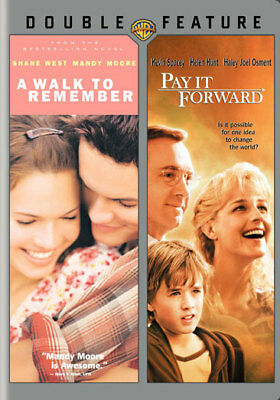 Warner Home Video D037624D Walk To Remember/pay It Forward (Dbfe/eng-Sp-Fr Sub)
