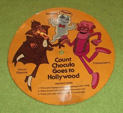 Count Chocula goes to Hollywood record Holloween frankenberry Boo Berry monsters