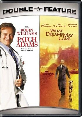 Uni Dist Corp Mca D61100759D Patch Adams/what Dreams May Come Double Feature ...