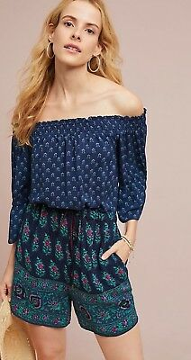 c296f8764ba NWT Anthropologie  128 Kaleo Off the Shoulder Romper Sz XL-Fast Shipping