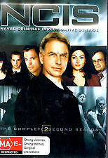 Ncis: Complete Second Season / 2 - Brand New & Sealed R4 Dvd, 6-Disc Set (2004)