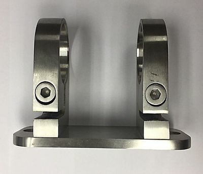 Balustrade Post Side Fix Facia Brackets For 42.4mm Stainess Steel Tube