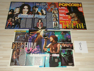 HIM VILLE VALO articles + cover + poster from Europe RARE *08*
