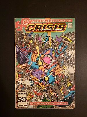 Crisis On Infinite Earths #12 Wolfman Perez 1st App Wally West * 1 book lot *