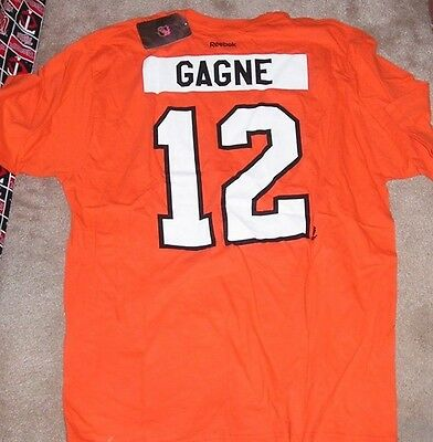 NEW NHL Philadelphia Flyers Simon Gagne Jersey Style T Shirt Men 2XL XXL  NEW NWT 2e8b52fd6