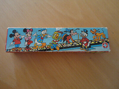 altes Micky Maus Domino Disney Disneylandia von Estrela Art. No .8917