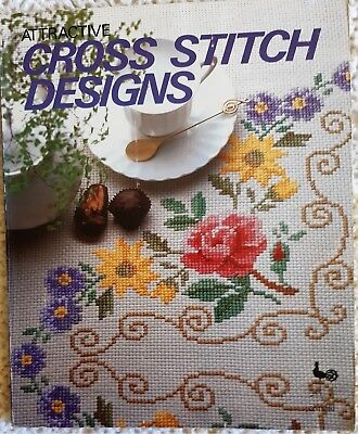 'Attractive Cross Stitch Designs' Published by Ondori Heaps of Gorgeous Charts