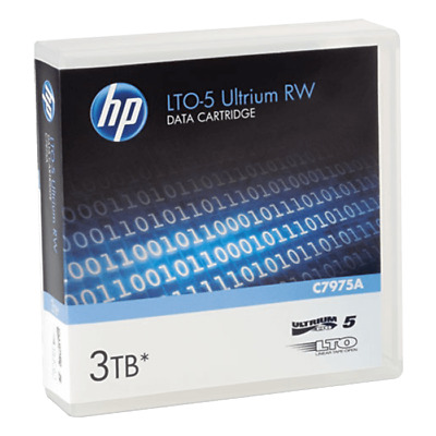HP LTO5 Ultrium 3TB RW Data Cartridge (C7975A)
