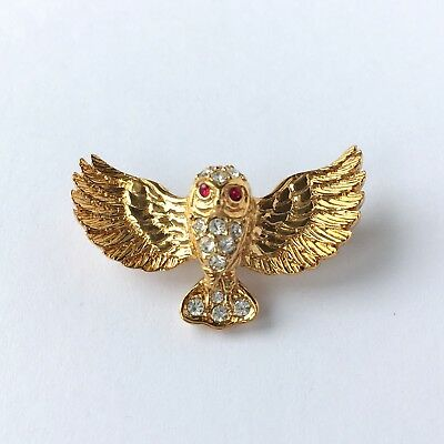 Flying Owl brooch by Attwood /& Sawyer Brand New in original box. Old stock vintage piece