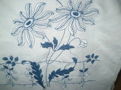 19 c hand embroidered towel Macedonian