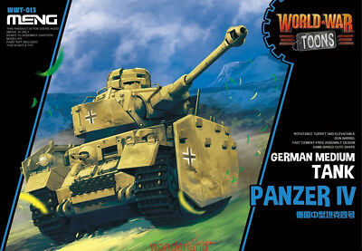 Meng WWT-013 German Medium Tank Panzer IV Q Edition Plastic Assembly Model NEW