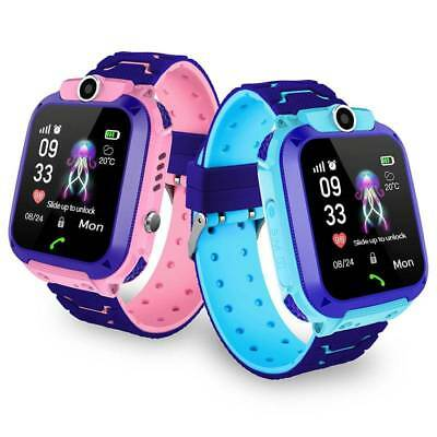 Waterproof LBS Tracker Child Kids Smart Watch GSM Phone SOS Call For ios Android