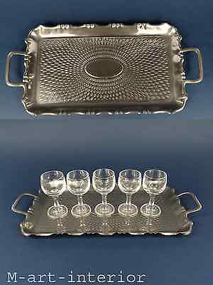 Beautiful Barware Serving Tray by F. & R. Fischer German Art Nouveau ca 1910s