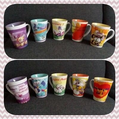 Mugs Tasses Messages Diddl Diddlina Mimihopps Galupy... TBE AUX CHOIX