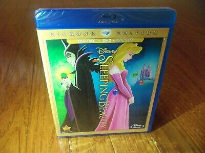 AUTHENTIC Sleeping Beauty Two-Disc Diamond Edition: Blu-ray / DVD + Digital Copy