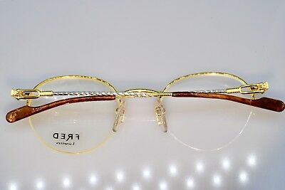 b5bc34601567 Vintage Eyeglasses Tips Fred Arms Cartier Wood Root Marble Acetate  Sunglasses