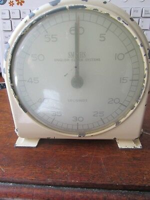 Vintage Art Deco Style Smiths- English Clock Systems- Stop Clock / Timer