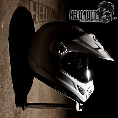 Premium helmet &leather storage display (bracket/stand/shelf/tidy)