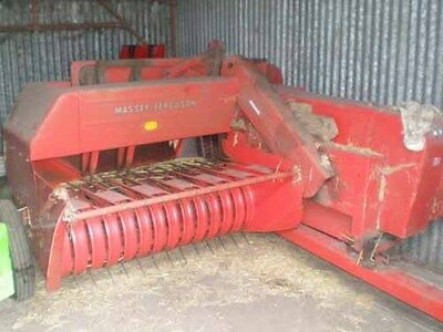 Massey Ferguson MF20 Baler Manual