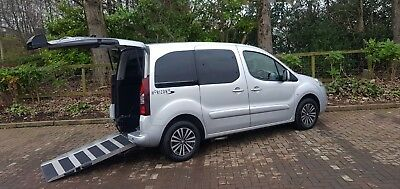 63 Peugeot Partner Horizon 1.6L Hdi Automatic ⭐ Wheelchair Accessible Vehicle