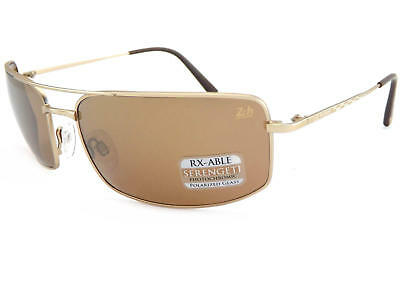 aa7bedf863 Serengeti Treviso 24 Hr Le Mans Satin Gold Polar Photo Driver Gold Sunglass  8484