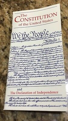 Pocket Constitution U.S. Declaration Independence Bicentennial 2000 NEW Lot Of 5